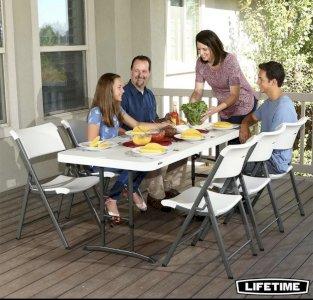 Transformer sexan Lifetime firmai, USA original e Տրանսֆորմեր սեղան, Стол трансф