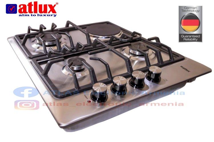 ATLUX-G4-ներկառուցվող գազօջախ, nerkarucvox gazojax, գազօջախ. Gazojax