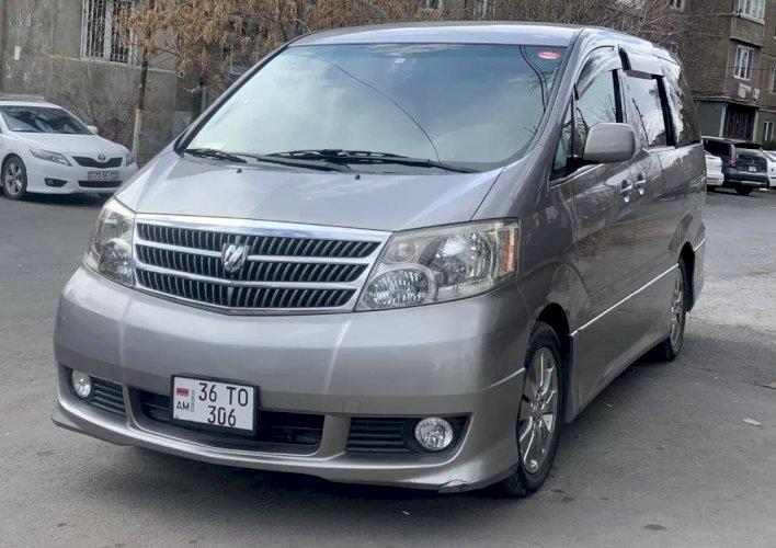 Toyota alphard poxanakum
